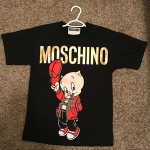 Moschino os t-shirt limited edition